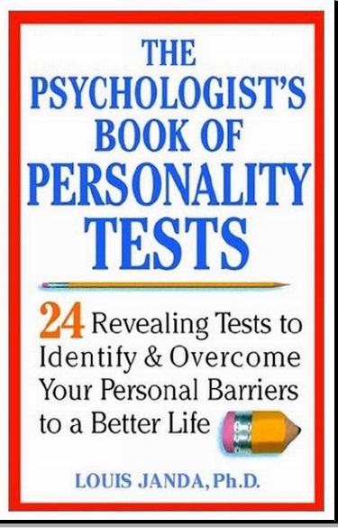 Unlimited World The Psychologist S Book Of Personality Test Pdf