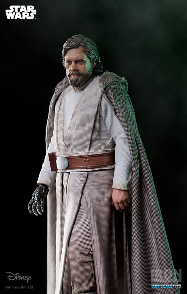 Resultado de imagem para Star Wars Luke Skywalker (Old ver.) - 1/10 Art Scale