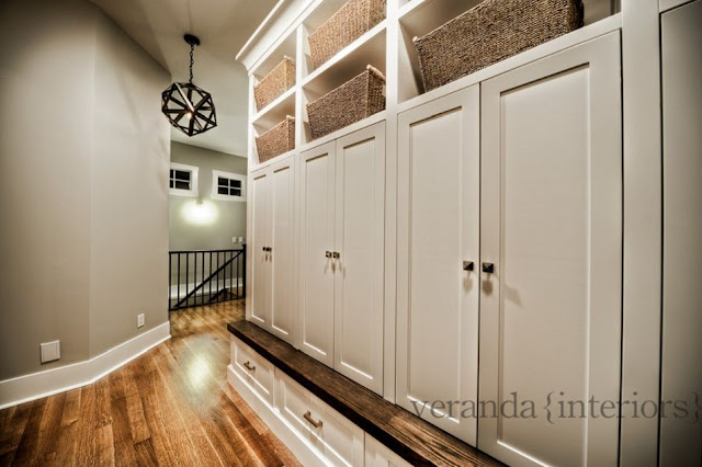 mudroom idea design plan entrance way lockers
