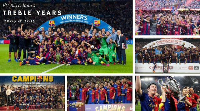 FC Barcelona is the only club in Europe to win a Continental Treble in two occasion, first in 2009 under Pep Guardiola and then in 2015 under Luis Enrique