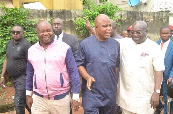 You'll be relocated to a comfortable place- Ikpeazu tells traders at Isi-Gate