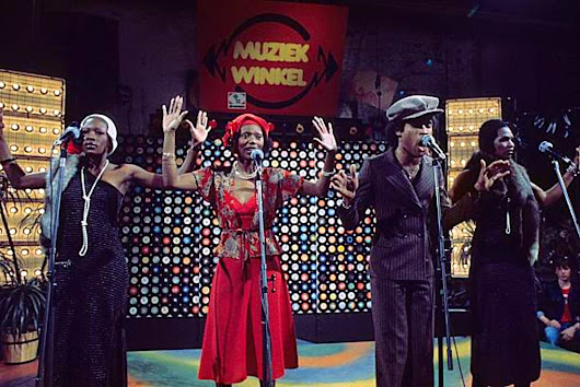 Boney M. - Ma Baker (Musikladen and delivery of Gold Records)