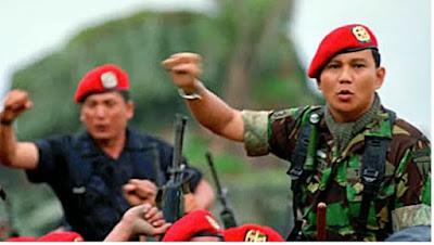 Komandan Jenderal Kopassus Prabowo - pustakapengetahuan.com