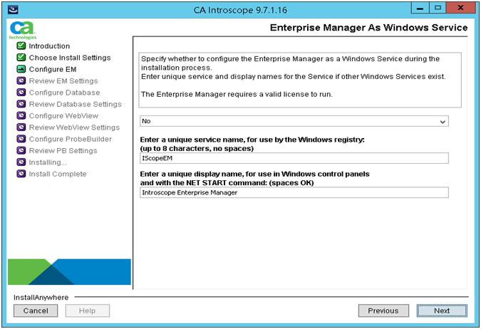 Wily Introscope Installation in Solution Manager   SAP Blogs