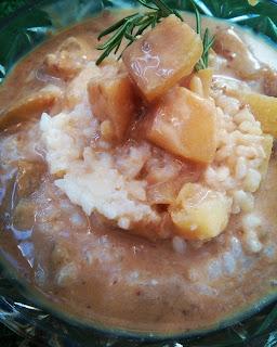 Ryż z jabłkami i sosem piernikowym (konkurs #przepisnakopernika)