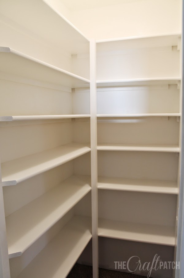 Learn how we built the shelving HERE . We also added a shelf between ...