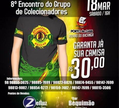 """8º ENCONTRO DO GRUPO DE COLECIONADORES """"RESISTÊNCIA REGGAE"""" ACONTECE NESTE  SÁBADO 18 b4da0de3e6c02"""