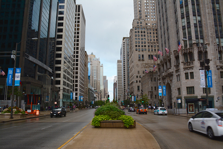 Chicago at street level