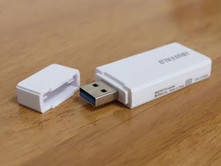 iBUFFALO USB3.0 microSD/SDカード専用カードリーダー ホワイト BSCR27U3WH