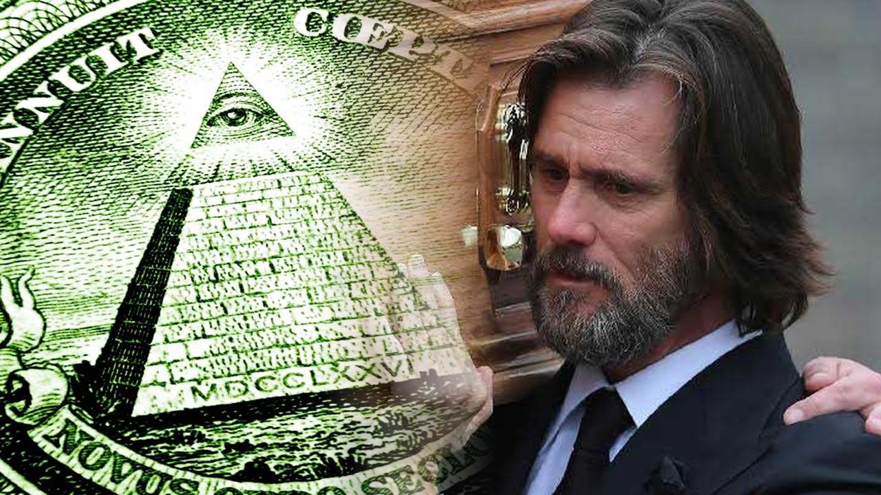 ¿Desafió Jim Carrey a los Illuminati? Su sospechosa caída en desgracia