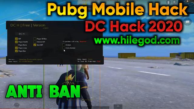 Pubg Mobile DC Hack Esp 3D Aimbot - Ağustos Yeni 2020