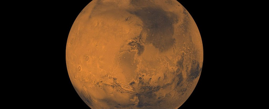 NASA just detected oxygen in the Martian atmosphere