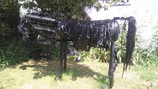 Kattanga the War Horse has a tail