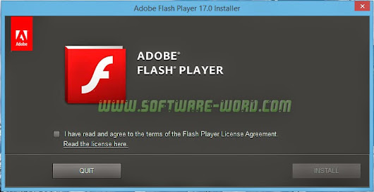 Adobe Flash Player 17.0.0.188 Offline Installer