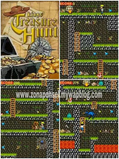 Kings Treasure Hunt game ponsel Java jar