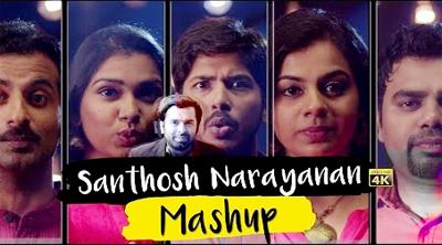 Santhosh Narayanan Mashup – Acappella by Karthikeya Murthy