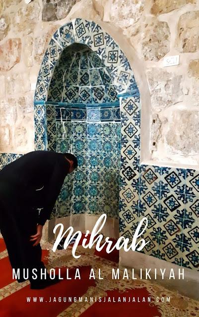 mihrab Mushlolla Al Malikiyah