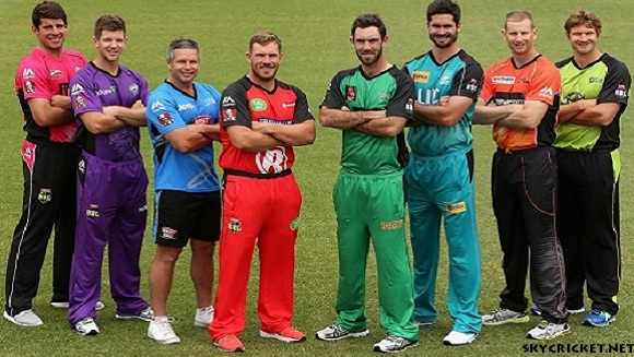 Big Bash League Teams, Players and Captains