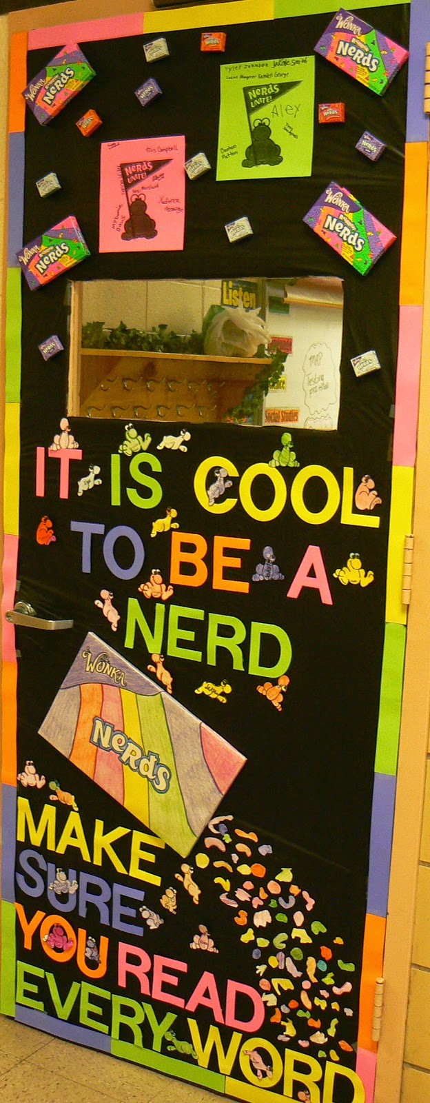 SalleeB's Kitchen: A Candy Themed, Classroom Door ...