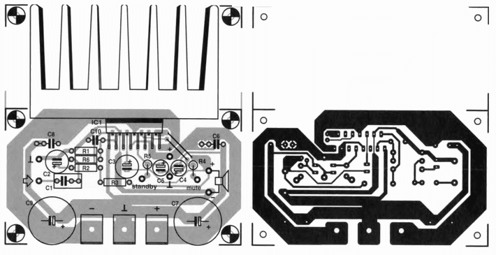 AmplifierCircuits com: Layout