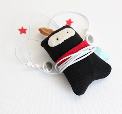 Ninja Earphone Case