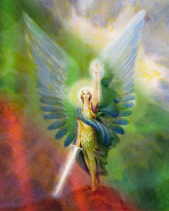 Архангел Михаил е като колективна Божествена вълна