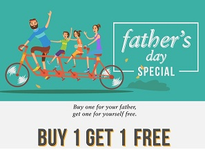 Lenskart Father's Day Offer: Buy 1 Get 1 FREE Off on Vincent Chase & John Jacobs Eyewear / Sunglasses + Extra 55% Discount