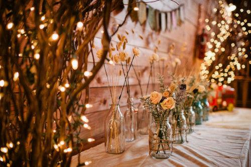 Cupcakes Og Champagne Bryllup Blomsterdekorasjoner Til