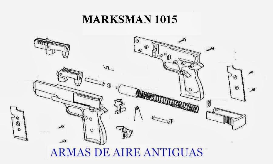 ARMAS ANTIGUAS DE AIRE: PISTOLA MARKSMAN 1015 SPECIAL EDITION