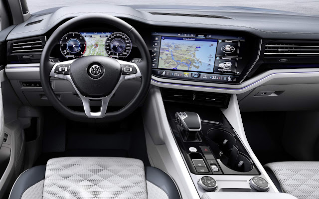Volkswagen Touareg 2019 - painel Inovision Cockpit