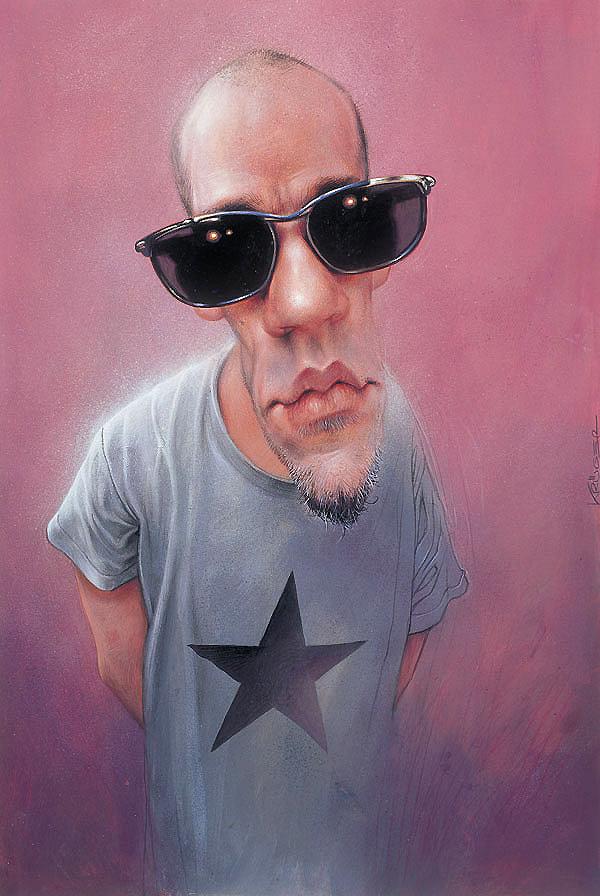 """""""Michael Stipe"""" por Sebastian Krüger"""