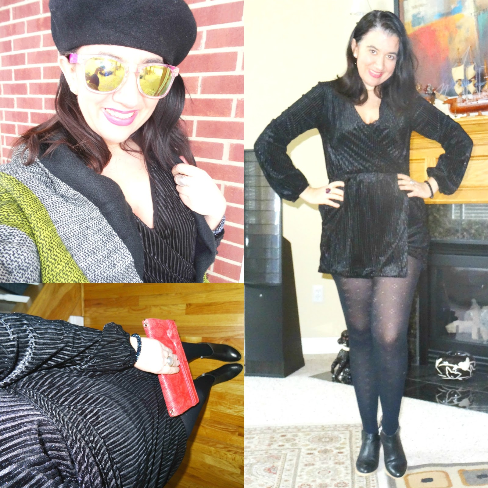 a8b4eca2c08 I am short on words and short on time today but I truly loved this head to  toe black outfit I wore for a daytime event
