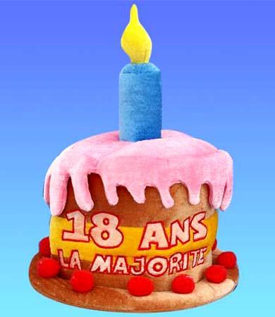 Joyeux anniversaire 18 ans sms d 39 anniversaire - Cadeau d anniversaire 18 ans ...