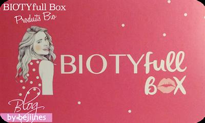 La BIOTYfull Box d'Octobre