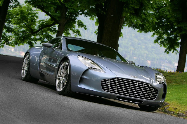 Aston Martin One-77 ke € 1.400.000