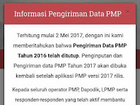 Rilis Aplikasi PMP Versi 2017