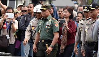 Panglima TNI : Tembak Mati Saja Oknum TNI Bekingi Bandar Narkoba - Commando
