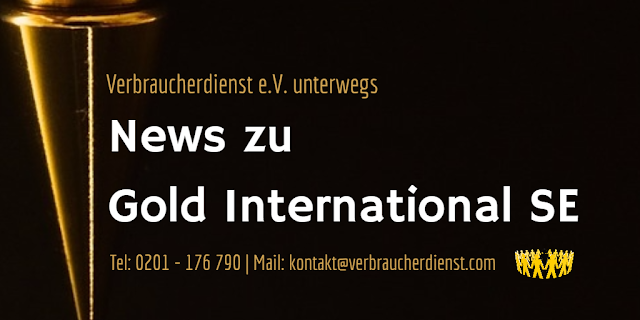 Titelbild: News zu Gold International SE- Düsseldorf - Erfahrungen