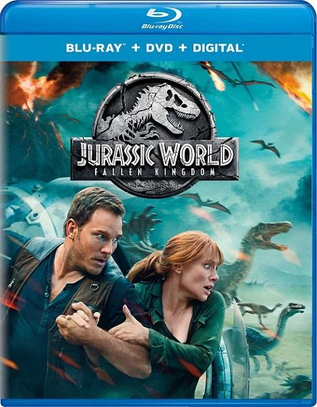 Jurassic World: Fallen Kingdom (Jurassic World: El reino caído) (2018) m1080p BDRip 15GB mkv Dual Audio DTS-X 7.1 ch