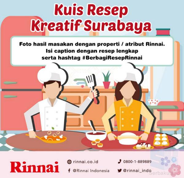 Berbagi Resep Rinnai