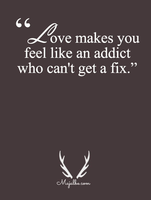 Addict That Can't Be Fixed