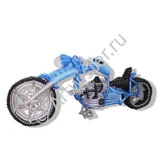 Мотоцикл из воздушных шаров в подарок байкеру от  Артвистер