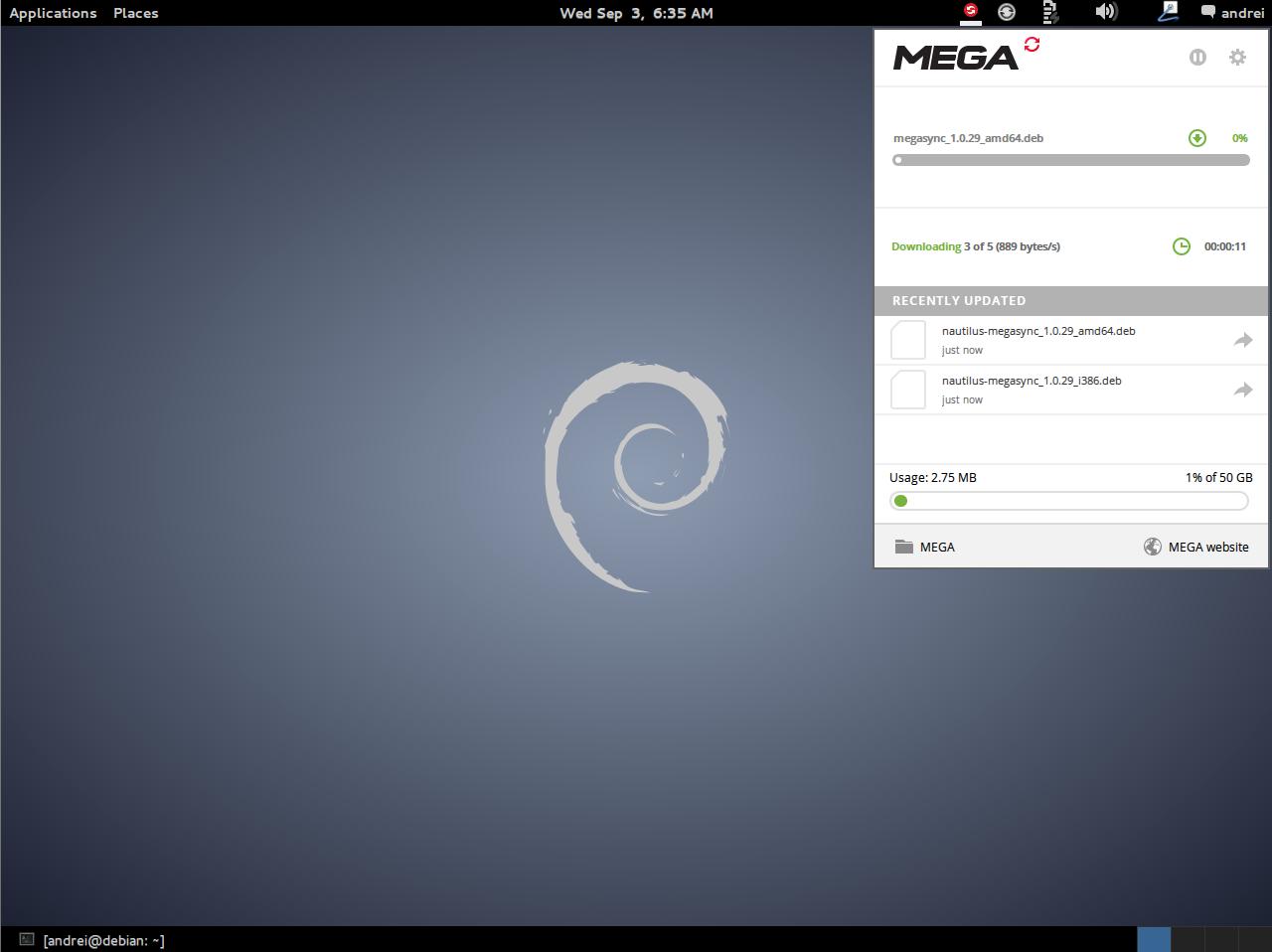 Download MEGAsync For Linux Desktops (MEGA co nz Linux Sync