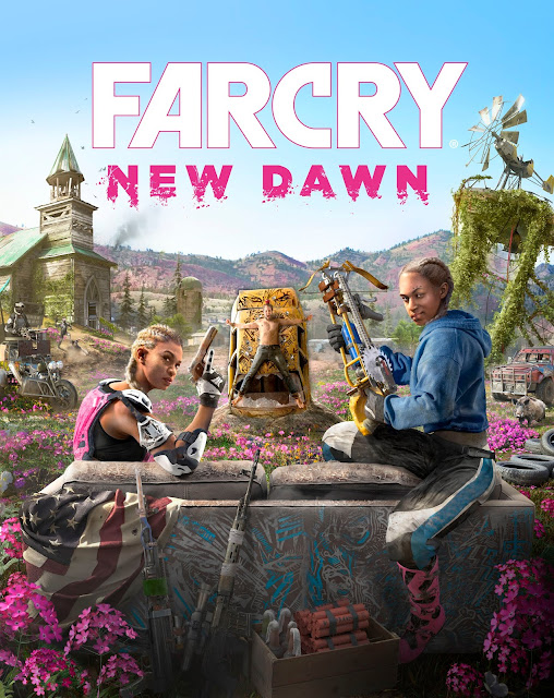 FAR CRY NEW DAWN cover art