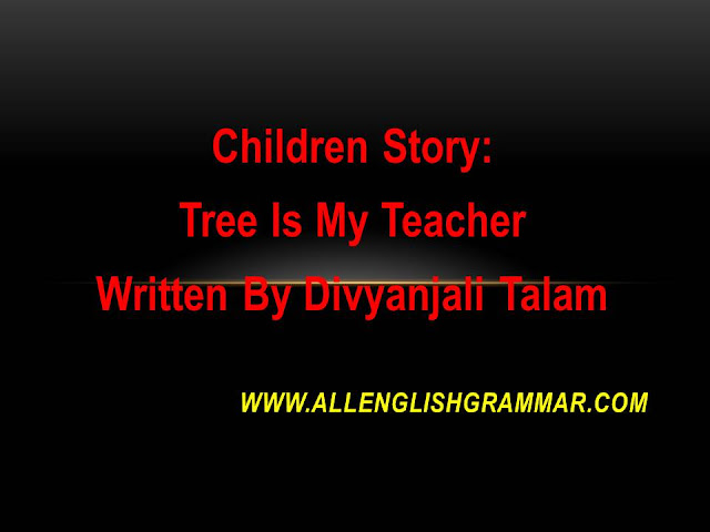 Tree-Is-My-Teacher