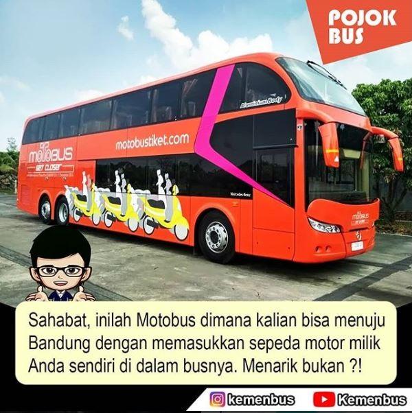 motor naik bus Motobus