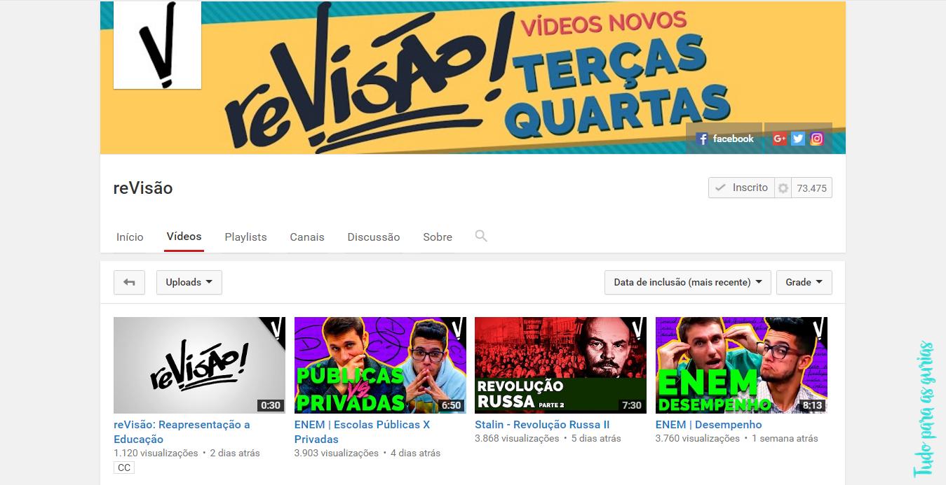 #DiárioDeUmaVestibulanda:Meus apps e Canais no YouTube preferidos.
