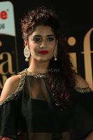Ritika Singh in a Ethnic Deep Neck Dark Green Choli Ghagra at IIFA Utsavam Awards March 2017 ~ 029.JPG