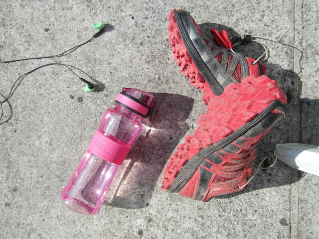 Ion8 Water Bottle and Running