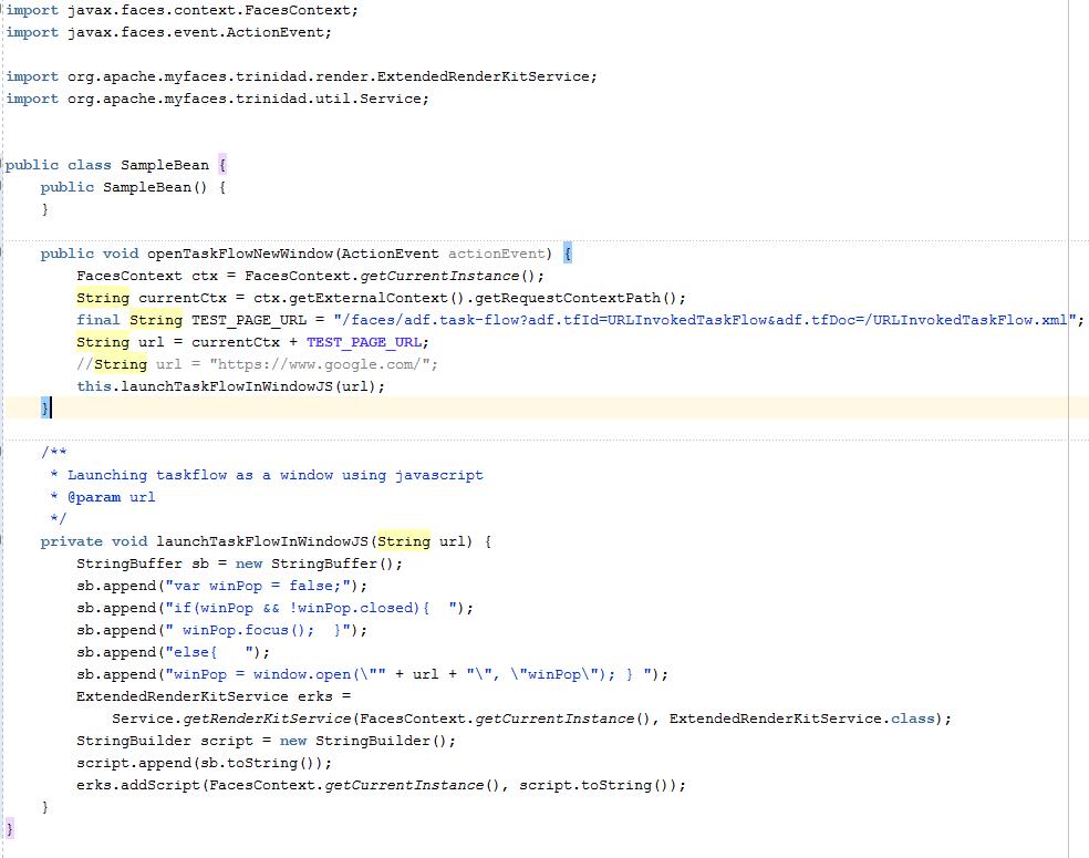Middleware Techincal Issue Resolution: Programmatically invoking URL